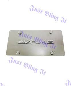 AMG front plate clear (1)
