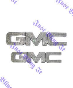 Grill & Trunk emblem Clear