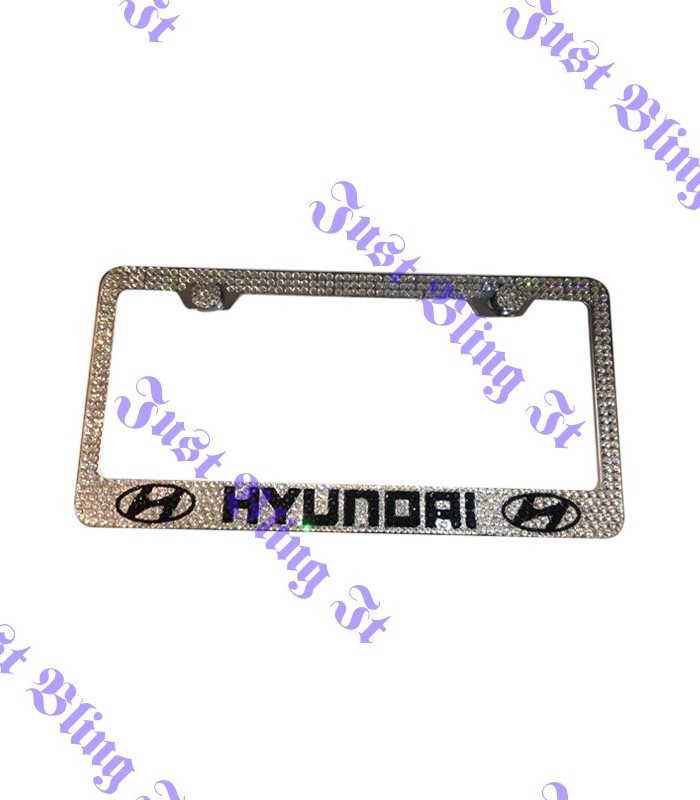 Hyundai Crystal license plate frame | Just Bling It LV