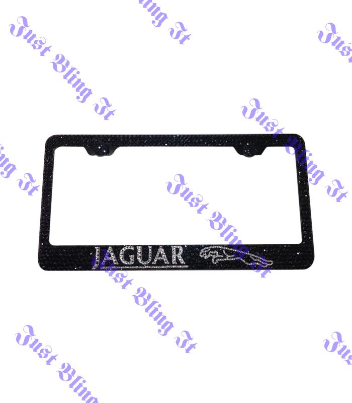 Jaguar License plate Frame | Just Bling It LV