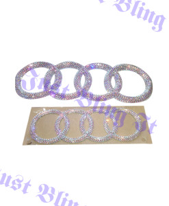 Set of emblem AB crystal