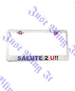 Custom Bling License Plate Frame