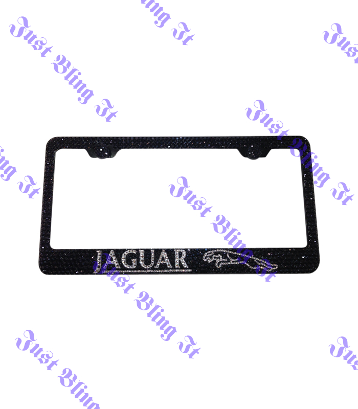 Jaguar License plate Frame | Just Bling It LV
