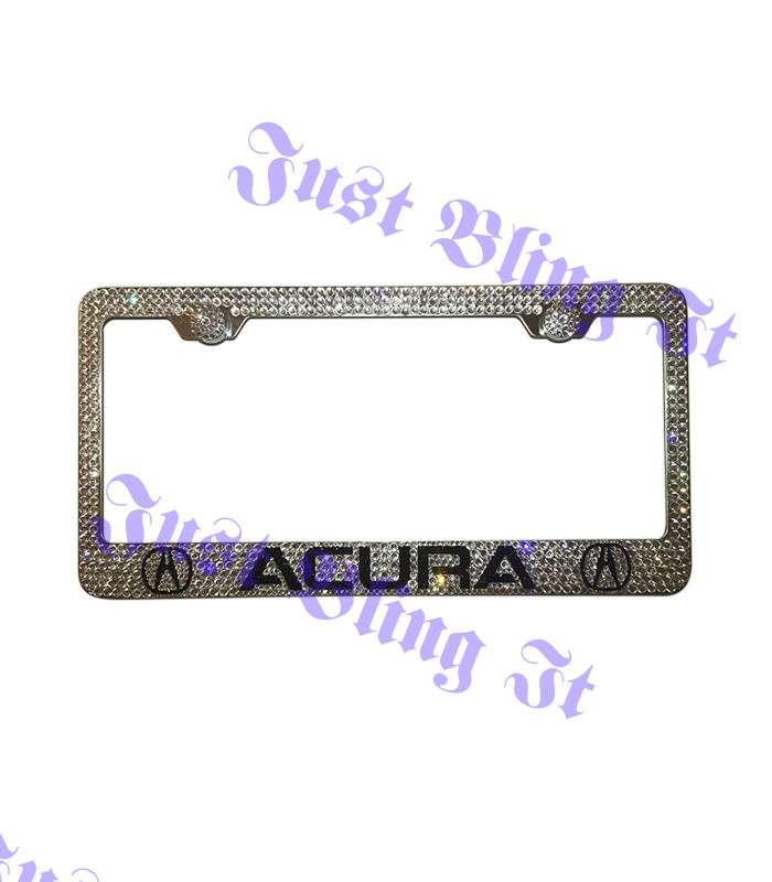 Acura License Plate Just Bling It LV - Acura license plate